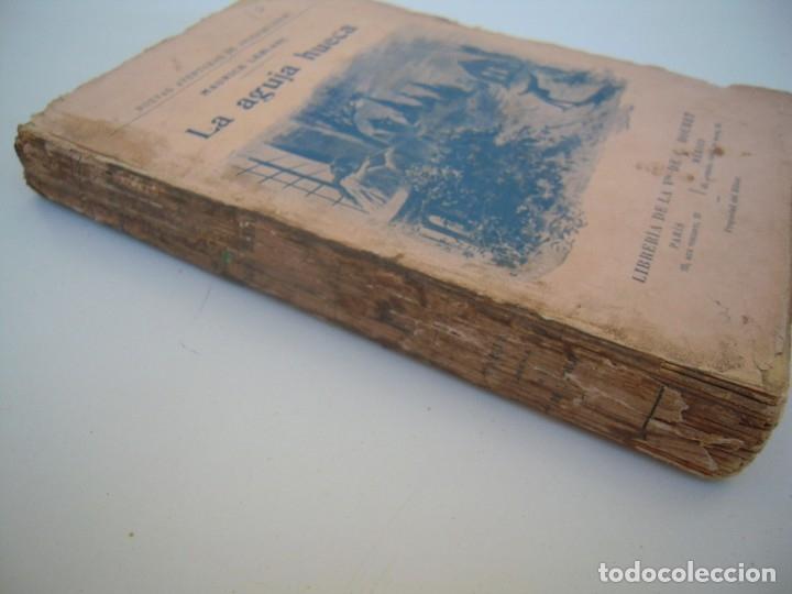 Libros antiguos: la aguja hueca libreria bouret 1914 lomo sucio - Foto 2 - 173812923