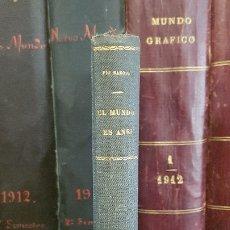 Libros antiguos: PÍO BAROJA - EL MUNDO ES ANSÍ. RAFAEL CARO RAGGIO,. Lote 174170664