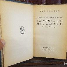 Libros antiguos: PÍO BAROJA - LA VENTA DE MIRAMBEL 1931. Lote 174172192
