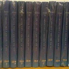 Livros antigos: LAS MIL Y UNA NOCHES (EDICIÓN DE LUJO) 17 VOLÚMENES. Lote 195381631