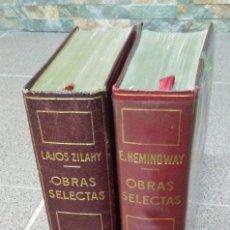 Libros antiguos: LAJOS ZILAHY Y E. HEMINGWAY. PLANETA.. Lote 174472099