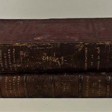 Libros antiguos: EL INGENIOSO HIDALGO DON QUIXOTE DE LA MANCHA. 2 TOMOS. FACSÍMIL. 1608/1615.. Lote 174966063