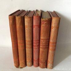 Libros antiguos: CRISOLINES, LOTE DE SEIS LIBROS CRISOL. Lote 174981867