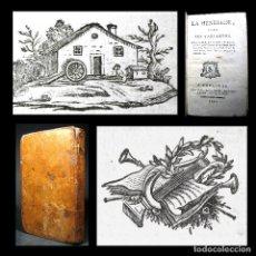 Libros antiguos: AÑO 1791 SOLO 1 EJEMPLAR EN ESPAÑA! VOLTAIRE LA HENRIADA TOULOUSE PLENA PIEL PEQUEÑOS GRABADOS. Lote 175366392