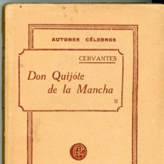 Libros antiguos: DON QUIJOTE DE LA MANCHA. EDITADO POR GARNIER HERMANOS PARIS. TOMO II. FINALES DEL SXIX.. Lote 175476372