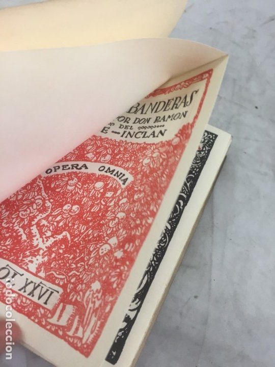 Libros antiguos: TIRANO BANDERAS R. VALLE INCLÁN OPERA OMNIA XXVI 1954 Editorial Plenitud Intonso - Foto 3 - 175513580