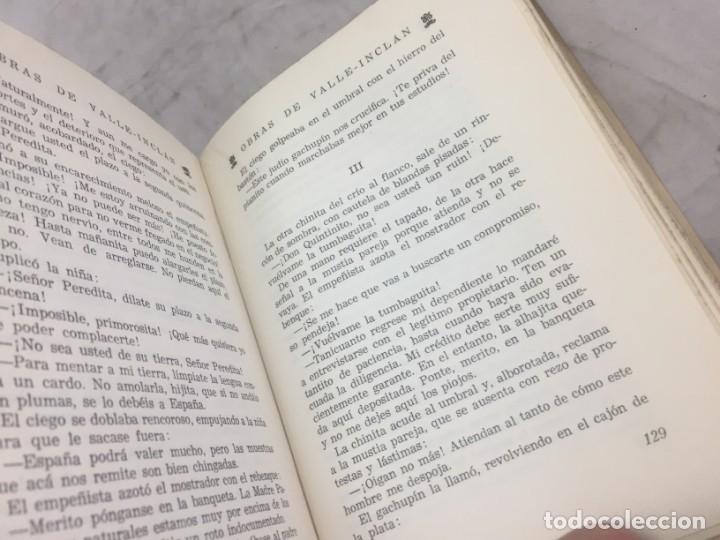 Libros antiguos: TIRANO BANDERAS R. VALLE INCLÁN OPERA OMNIA XXVI 1954 Editorial Plenitud Intonso - Foto 10 - 175513580