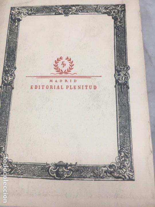 Libros antiguos: TIRANO BANDERAS R. VALLE INCLÁN OPERA OMNIA XXVI 1954 Editorial Plenitud Intonso - Foto 11 - 175513580