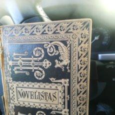 Libros antiguos: NOVELISTAS DEL SIGLO XVII BIBLIOTECA CLÁSICA ESPAÑOLA BARCELONA 1884. Lote 175700648
