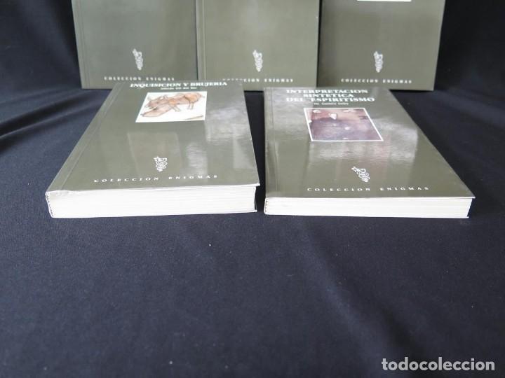 Libros antiguos: LOTE 5 TÍTULOS-COLECCIÓN ENIGMAS ESPIRITISMO-CIENCIAS OCULTAS - Foto 8 - 175702280