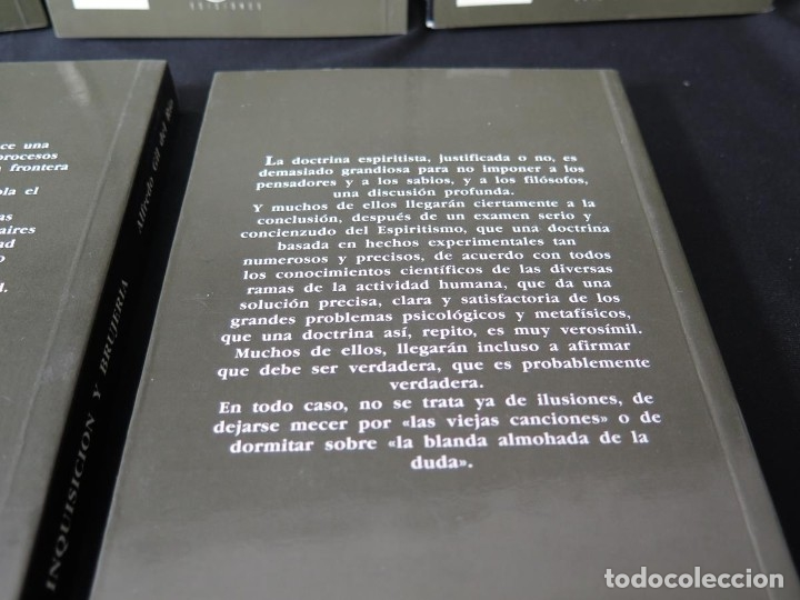 Libros antiguos: LOTE 5 TÍTULOS-COLECCIÓN ENIGMAS ESPIRITISMO-CIENCIAS OCULTAS - Foto 12 - 175702280