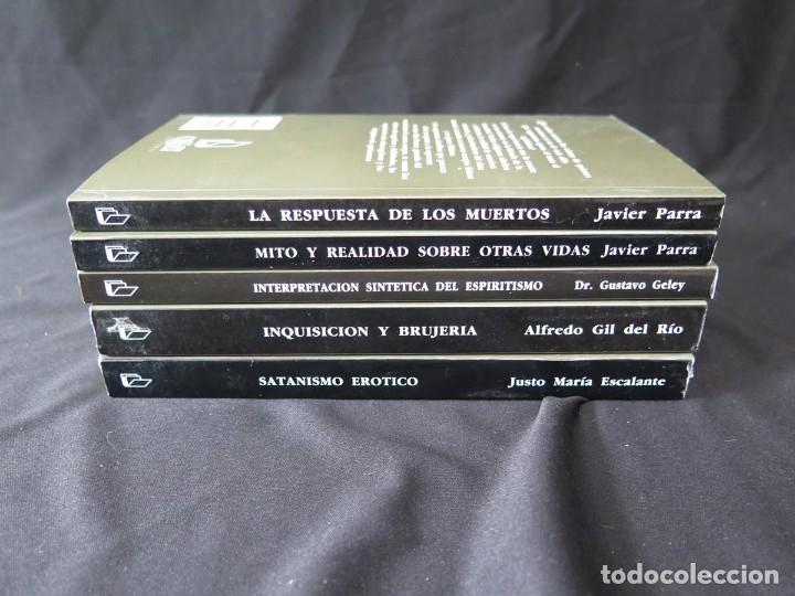 Libros antiguos: LOTE 5 TÍTULOS-COLECCIÓN ENIGMAS ESPIRITISMO-CIENCIAS OCULTAS - Foto 25 - 175702280