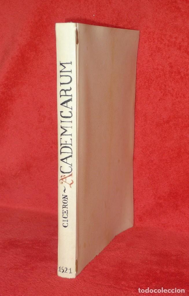 Libros antiguos: AÑO 1521 - 34 CM - ENORME POST INCUNABLE - OBRAS DE CICERON - PRECIOSO - GRABADOS - HAY QUE VERLO - Foto 4 - 175732800