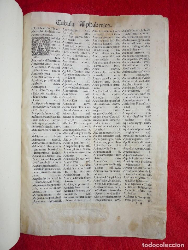 Libros antiguos: AÑO 1521 - 34 CM - ENORME POST INCUNABLE - OBRAS DE CICERON - PRECIOSO - GRABADOS - HAY QUE VERLO - Foto 11 - 175732800
