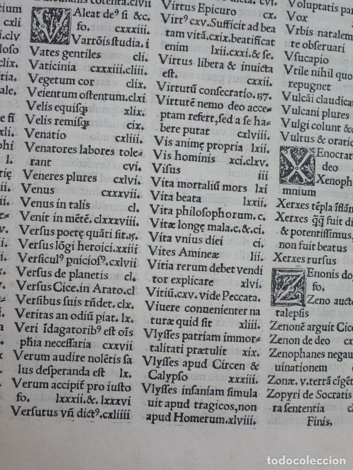 Libros antiguos: AÑO 1521 - 34 CM - ENORME POST INCUNABLE - OBRAS DE CICERON - PRECIOSO - GRABADOS - HAY QUE VERLO - Foto 15 - 175732800