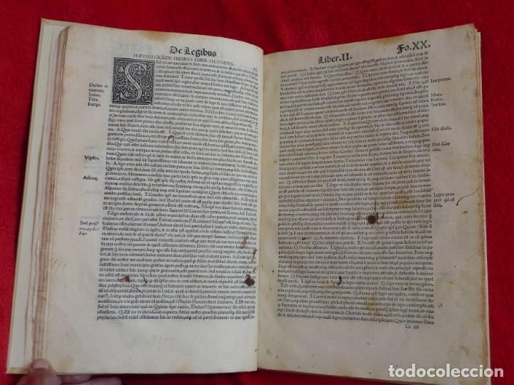 Libros antiguos: AÑO 1521 - 34 CM - ENORME POST INCUNABLE - OBRAS DE CICERON - PRECIOSO - GRABADOS - HAY QUE VERLO - Foto 25 - 175732800