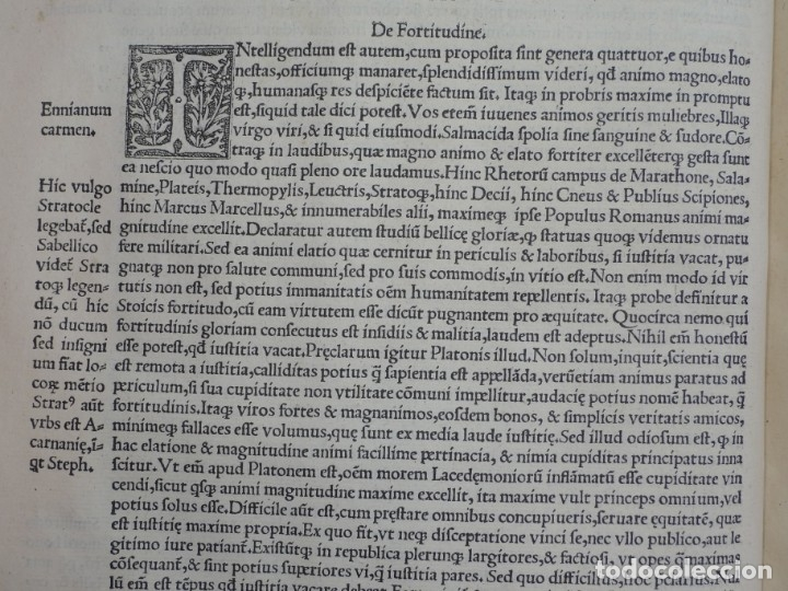 Libros antiguos: AÑO 1521 - 34 CM - ENORME POST INCUNABLE - OBRAS DE CICERON - PRECIOSO - GRABADOS - HAY QUE VERLO - Foto 37 - 175732800