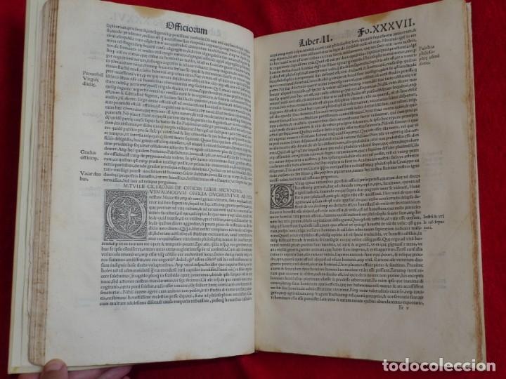 Libros antiguos: AÑO 1521 - 34 CM - ENORME POST INCUNABLE - OBRAS DE CICERON - PRECIOSO - GRABADOS - HAY QUE VERLO - Foto 43 - 175732800