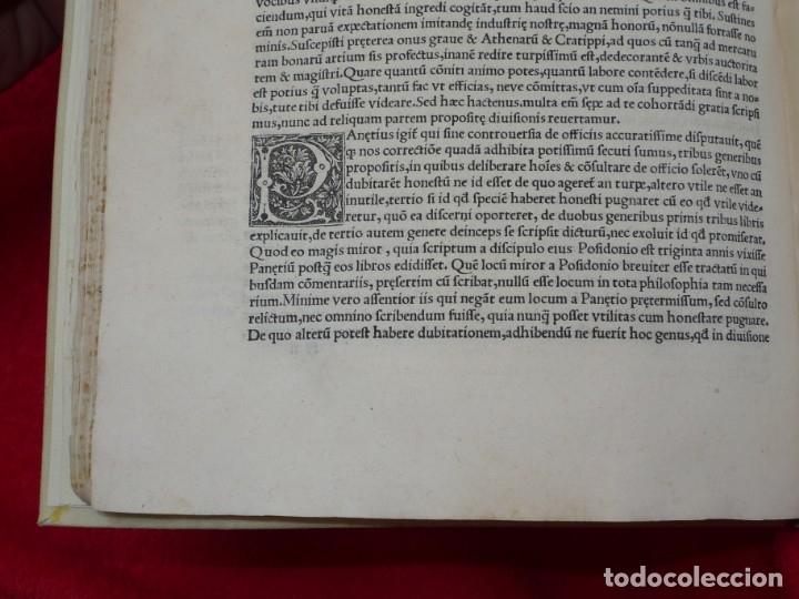 Libros antiguos: AÑO 1521 - 34 CM - ENORME POST INCUNABLE - OBRAS DE CICERON - PRECIOSO - GRABADOS - HAY QUE VERLO - Foto 48 - 175732800