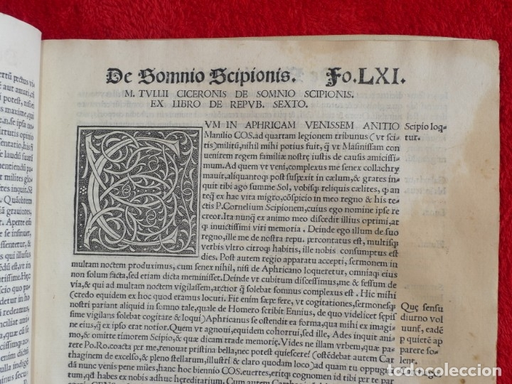 Libros antiguos: AÑO 1521 - 34 CM - ENORME POST INCUNABLE - OBRAS DE CICERON - PRECIOSO - GRABADOS - HAY QUE VERLO - Foto 60 - 175732800