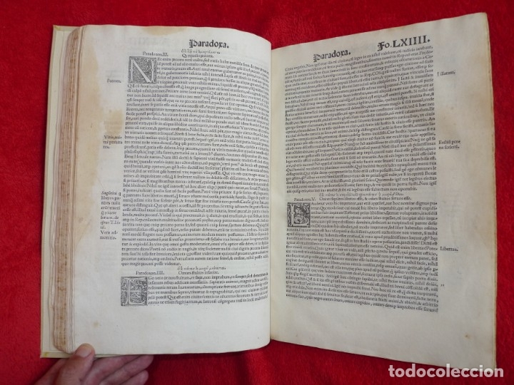 Libros antiguos: AÑO 1521 - 34 CM - ENORME POST INCUNABLE - OBRAS DE CICERON - PRECIOSO - GRABADOS - HAY QUE VERLO - Foto 65 - 175732800