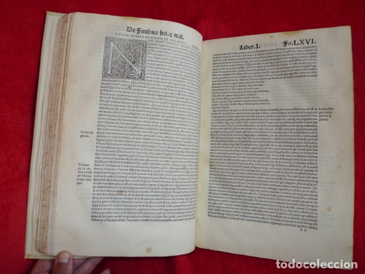 Libros antiguos: AÑO 1521 - 34 CM - ENORME POST INCUNABLE - OBRAS DE CICERON - PRECIOSO - GRABADOS - HAY QUE VERLO - Foto 67 - 175732800