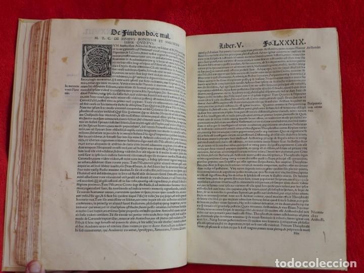 Libros antiguos: AÑO 1521 - 34 CM - ENORME POST INCUNABLE - OBRAS DE CICERON - PRECIOSO - GRABADOS - HAY QUE VERLO - Foto 75 - 175732800
