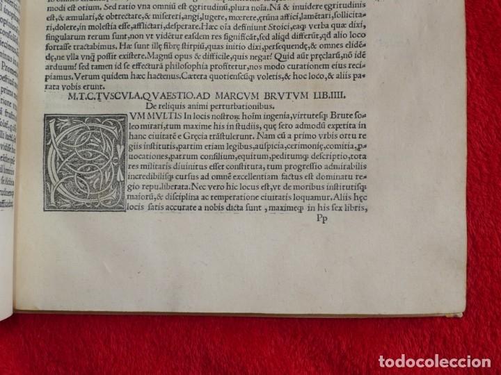 Libros antiguos: AÑO 1521 - 34 CM - ENORME POST INCUNABLE - OBRAS DE CICERON - PRECIOSO - GRABADOS - HAY QUE VERLO - Foto 86 - 175732800