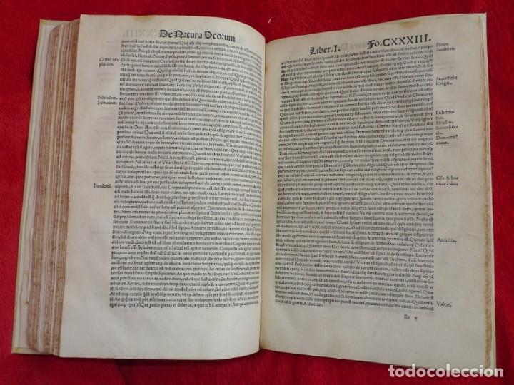 Libros antiguos: AÑO 1521 - 34 CM - ENORME POST INCUNABLE - OBRAS DE CICERON - PRECIOSO - GRABADOS - HAY QUE VERLO - Foto 94 - 175732800