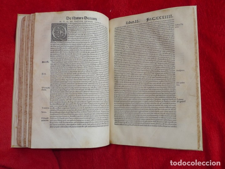 Libros antiguos: AÑO 1521 - 34 CM - ENORME POST INCUNABLE - OBRAS DE CICERON - PRECIOSO - GRABADOS - HAY QUE VERLO - Foto 95 - 175732800