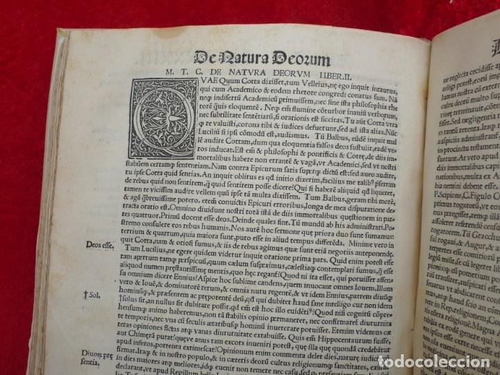 Libros antiguos: AÑO 1521 - 34 CM - ENORME POST INCUNABLE - OBRAS DE CICERON - PRECIOSO - GRABADOS - HAY QUE VERLO - Foto 97 - 175732800