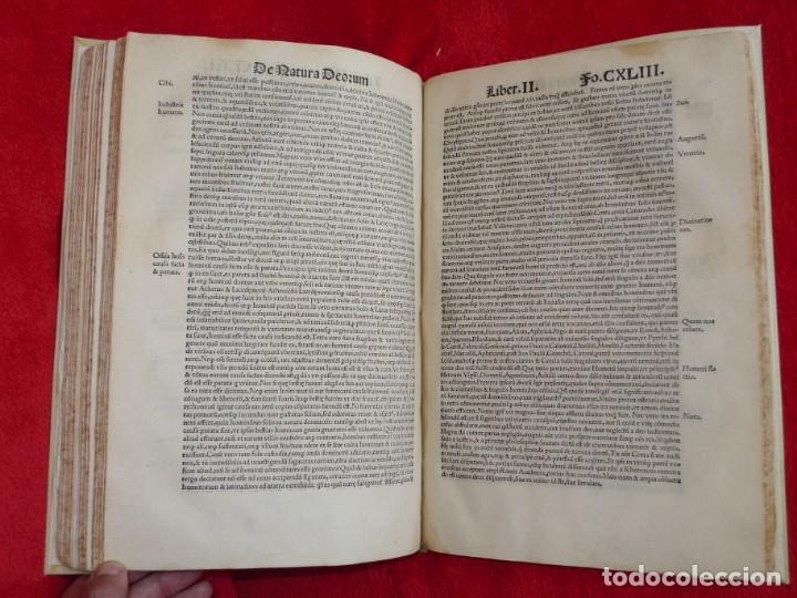 Libros antiguos: AÑO 1521 - 34 CM - ENORME POST INCUNABLE - OBRAS DE CICERON - PRECIOSO - GRABADOS - HAY QUE VERLO - Foto 98 - 175732800