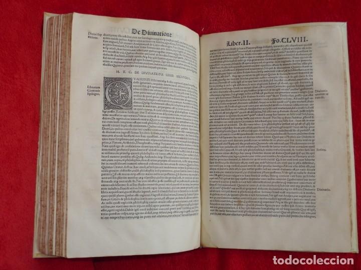 Libros antiguos: AÑO 1521 - 34 CM - ENORME POST INCUNABLE - OBRAS DE CICERON - PRECIOSO - GRABADOS - HAY QUE VERLO - Foto 104 - 175732800