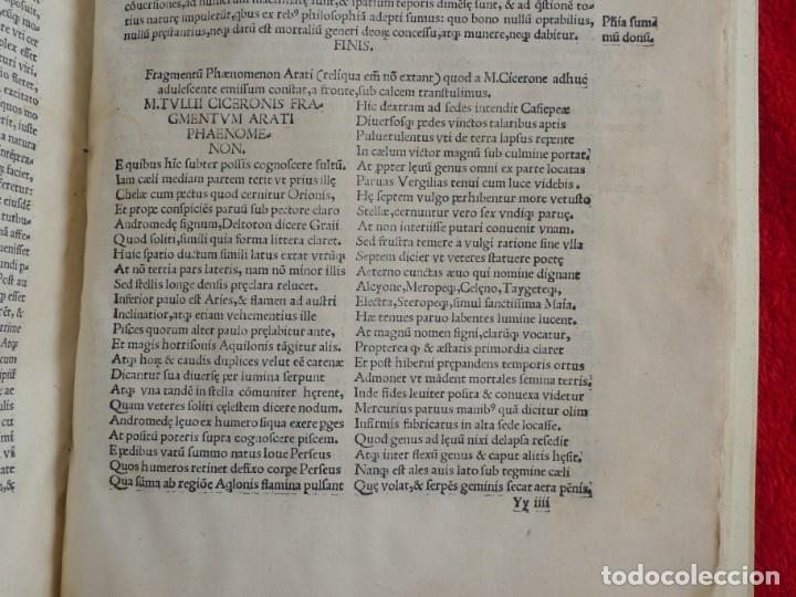 Libros antiguos: AÑO 1521 - 34 CM - ENORME POST INCUNABLE - OBRAS DE CICERON - PRECIOSO - GRABADOS - HAY QUE VERLO - Foto 112 - 175732800