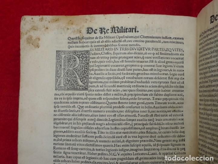 Libros antiguos: AÑO 1521 - 34 CM - ENORME POST INCUNABLE - OBRAS DE CICERON - PRECIOSO - GRABADOS - HAY QUE VERLO - Foto 114 - 175732800