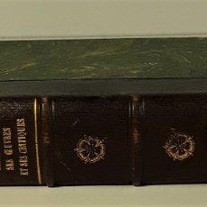 Libros antiguos: SHAKESPEARE SES OUVRES ET SES CRITIQUES. LIB. HACHETTE ET CIA. PARÍS. 1910.. Lote 175777412