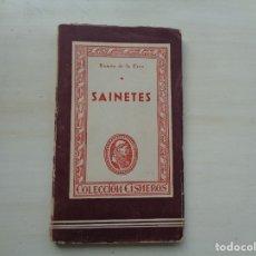 Libros antiguos: SAINETES DE RAMON DE LA CRUZ. Lote 175857725