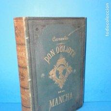 Libros antiguos: EL INGENIOSO HIDALGO DON QUIJOTE DE LA MANCHA.- MIGUEL DE CERVANTES SAAVEDRA.. Lote 175893563
