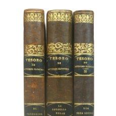 Libros antiguos: 1844 - VIZCONDE D'ARLINCOURT: EL PEREGRINO. LA ESTRELLA POLAR. LOS TRES REINOS - COMPLETO - LÁMINAS. Lote 175932680