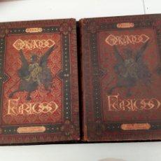 Libros antiguos: ORLANDO FURIOSO 1883 - ARIOSTO- , ILUSTRADO POR GUSTAVO DORÉ, 2 TOMOS. Lote 176196522
