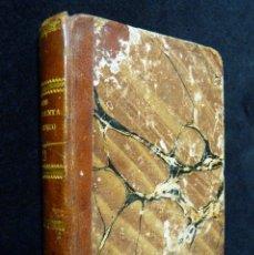 Libros antiguos: LOS CUARENTA Y CINCO. TOMOS III Y IV. ALEJANDRO DUMAS. IMPRENTA JOSÉ RIUS. VALENCIA, 1855. MAGNÍFICO. Lote 176323394
