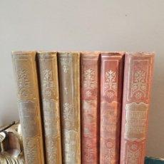 Libros antiguos: BIBLIOTECA CLÁSICA 6 TOMOS VARIOS TEMAS Y AUTORES. Lote 176569405