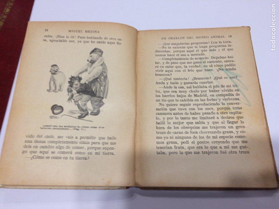 Libros antiguos: BIBLIOTECA SELECTA RAMON SOPENA , UN CHARLOT DEL MUNDO ANIMAL , 1918 - Foto 3 - 152648278