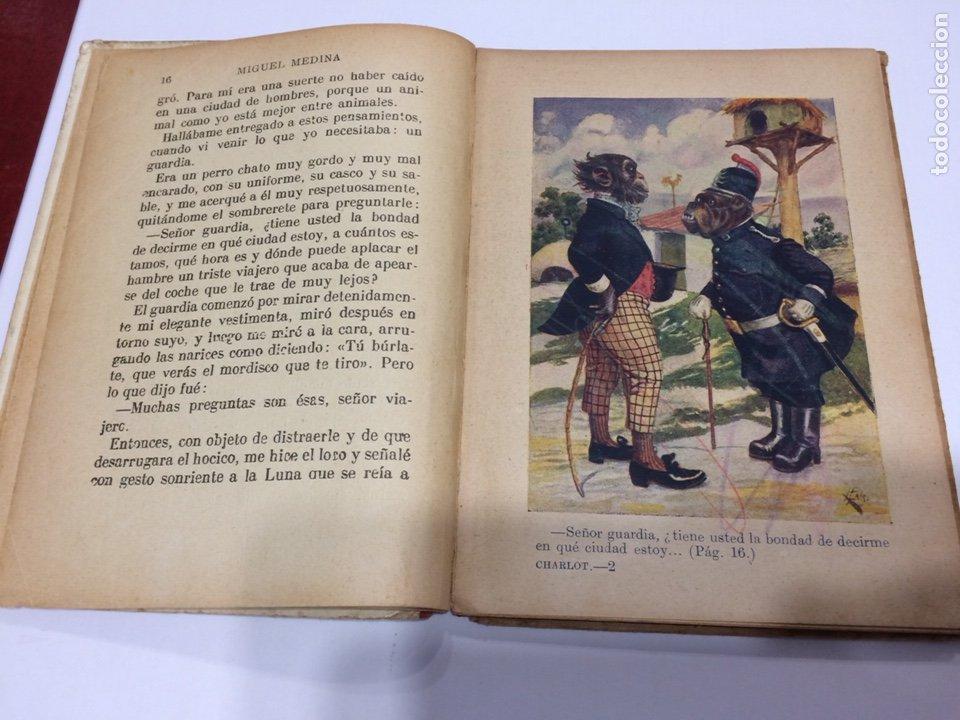 Libros antiguos: BIBLIOTECA SELECTA RAMON SOPENA , UN CHARLOT DEL MUNDO ANIMAL , 1918 - Foto 4 - 152648278