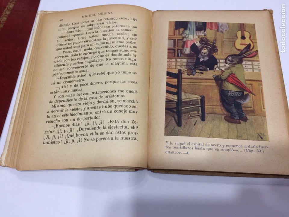 Libros antiguos: BIBLIOTECA SELECTA RAMON SOPENA , UN CHARLOT DEL MUNDO ANIMAL , 1918 - Foto 5 - 152648278