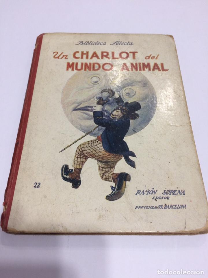 BIBLIOTECA SELECTA RAMON SOPENA , UN CHARLOT DEL MUNDO ANIMAL , 1918 (Libros antiguos (hasta 1936), raros y curiosos - Literatura - Narrativa - Clásicos)