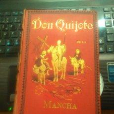 Libros antiguos: DON QUIJOTE DE LA MANCHA - MIGUEL DE CERVANTES SAAVEDRA - ED. MAUCCI. BARCELONA - 1895. Lote 176908940