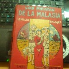 Libros antiguos: EMILIO SALGARI : LOS PIRATAS DE LA MALASIA -MAUCCI-PRINCIPIOS 1900. Lote 176909684