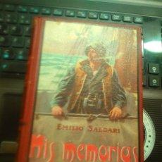 Libros antiguos: EMILIO SALGARI : MIS MEMORIAS (MAUCCI, C. 1920). Lote 176909802