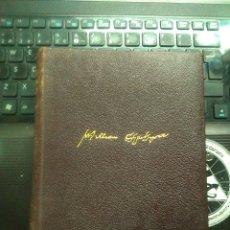 Libros antiguos: WILLIAM SHAKESPEARE, OBRAS COMPLETAS (ED. AGUILAR DÉCIMA EDICIÓN 1951). Lote 176913222